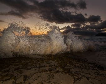 Photography Print- Landscape, Nature, Large Wave