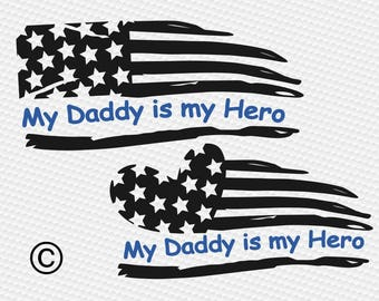 American flag svg, Thin blue line svg, Law enforcement svg, Police, SVG Files, Cricut, Cameo, Cut file, Files, Clipart, Svg, DXF, Png, Eps