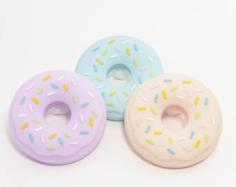 100% silicone DONUT teether