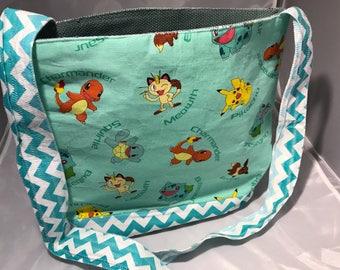 Pokemon Cross Body Tote Bag