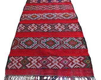 Vintage Kilim Morocco 105 x 213 cm