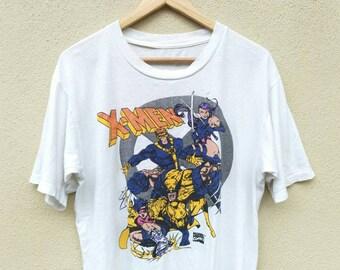 Vintage X-men marvel comic tshirt | Vintage marvel tshirt | Vintage xmen |gambit wolverine cyclops