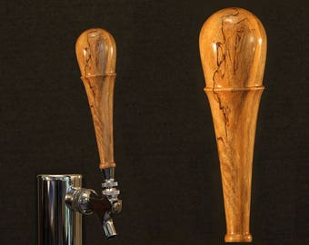 Beer Tap Handle, Spalted Carrotwood (CWS1007)
