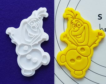Dancing Olaf Cookie Cutter and Stamp