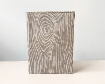 Passport holder, wood effect passport cover