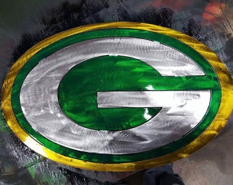 Green Bay Packers Metal Sign