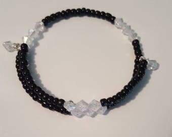 Wrap around memory wire bracelet/Coil/wire bracelet