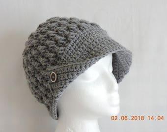 Hat with brim