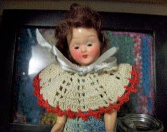 Vintage Spanish Doll 1950s 1960s Collectible Toy Sleepy