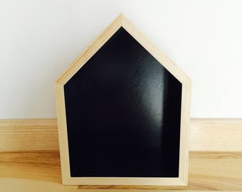 House Shaped Shelf, Wooden House