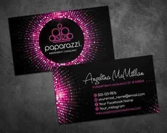 Paparazzi business cards, paparazzi custom cards, paparazzi jewelry, paparazzi accessories, paparazzi business, paparazzi business card #1