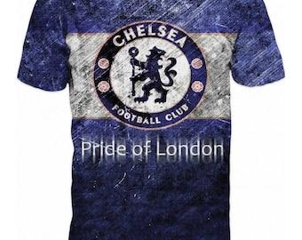 New ultramodern 3D  High Quality  Print Fans Short Sleeve t-shirt Chelsea