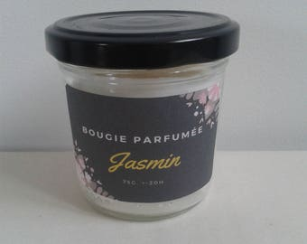 Mini jasmine scented candle