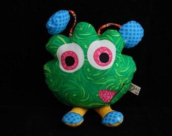 Doudou Monster Florette