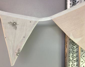 Bee and Star Bunting