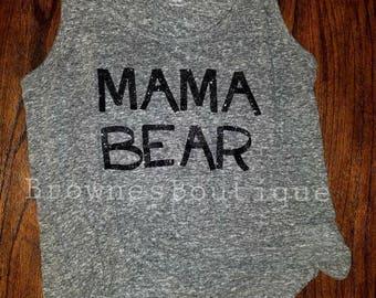 Customizable womans Mama Bear tank top