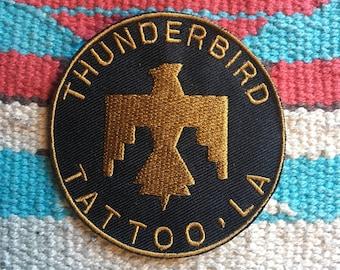 Thunderbird Tattoo Patch