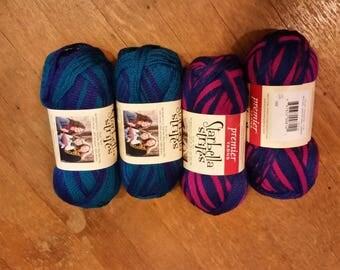 Assorted Colors - Ruffle yarn - free shipping