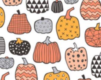PREORDER Pumpkin Party Bandana and Bowtie