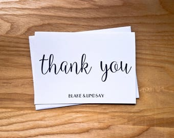 Wedding Thank You Cards [Set of 10]