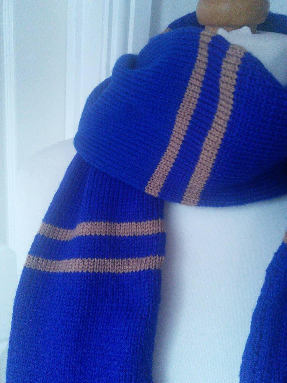 Handmade Harry Potter Ravenclaw Scarf - all house colours available ...
