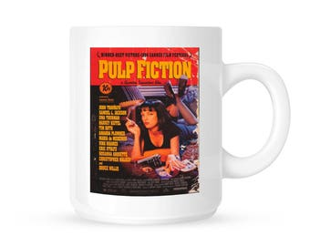 PULP FICTION MOVIE Poster 11oz Ceramic Mug