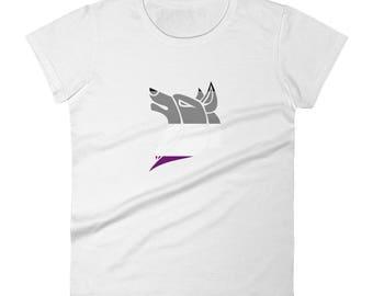 Asexual Pride Women's short sleeve t-shirt lgbtq lgbt lgbtqipa queer gay transgender mogai ace pride