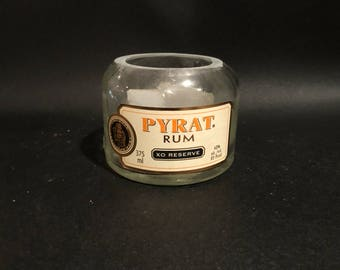 375ML vs 750ML Pyrat Rum Candle Bottle Soy Candle. Made To Order !!!!!!!