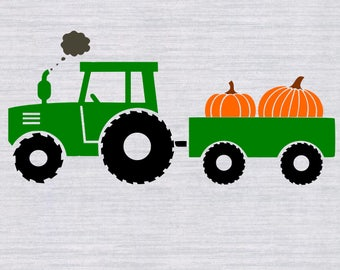 Fall Tractor Svg, Fall Svg boy, Thanksgiving svg, Fall Svg, Boys fall shirt, Svg File, Cutting File, DXF, SVG Cricut, silhouette
