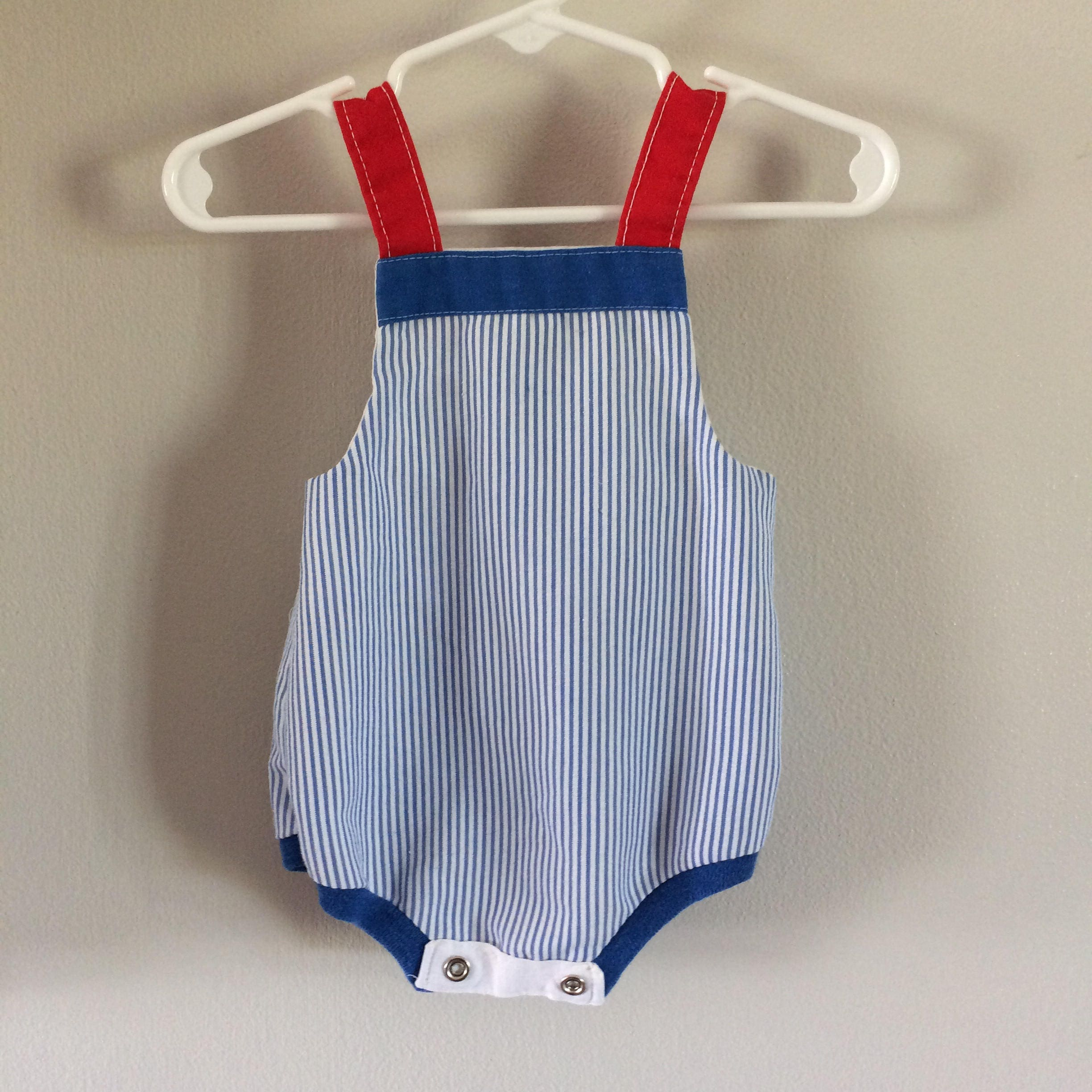 Baby Boys Size 3M 3 Months Health Tex Vintage Tugboat Summer Bubble
