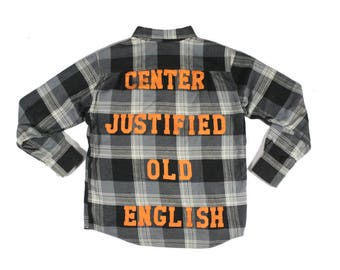 Old English Flannel