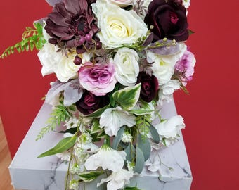 SELECT COLOR,Silk Flower,Wedding Bouquet,Coral,Burgundy,Rose,Pink Peony,Cascading,Teal,Red,Yellow,Blue,Greenery,Bridal,Mint,Cream,Purple