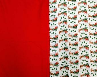 Christmas Broadcloth Fabric Bundle - 5.3 yds