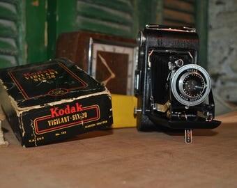 Kodak Vigilant Six-20 Folding Camera **As New**