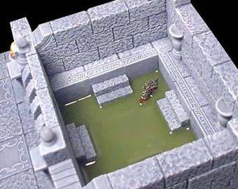 Gothic Slime Trap Hallway