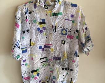 1980s vintage club shirt