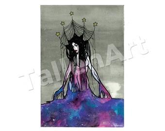 Galaxy Priestess Original - A3
