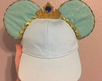 Princess Jasmine Inspired Mouse Ear Hat