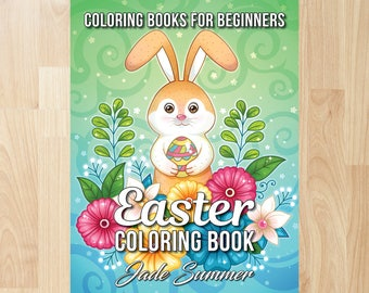 Easter Coloring Book by Jade Summer (Coloring Books, Coloring Pages, Adult Coloring Books, Adult Coloring Pages, Coloring Books for Adults)