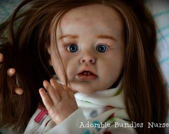 Reborn Toddler Girl ~NoraAriel by Joanna Kazmierczak- SOLD
