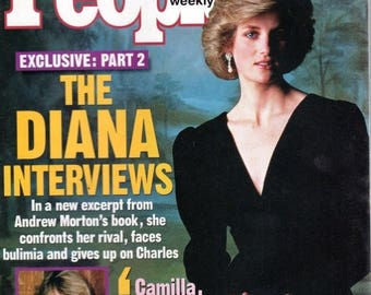 Summer Sale People Magazine October 20, 1997 Part Two: the Diana Interview