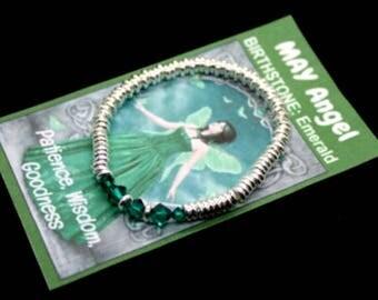 May Swarovski Birthstone Bracelet