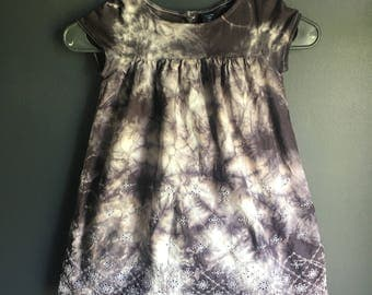 4 years hand tie dyed dress