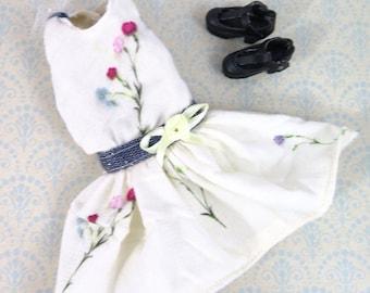Blythe floral sleeveless dress