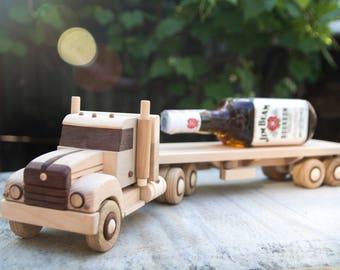 Wooden truck rangefinder