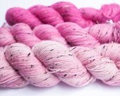 PINK FADE - BFL Tweed Gradient Set, 3 x 100 gr
