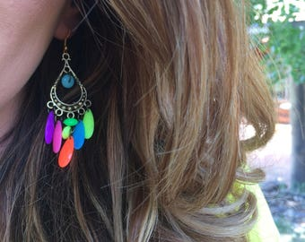 Light bright earrings