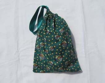 Drawstring Bag featuring Flying Duck Fabric