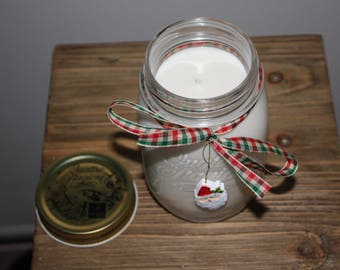 Holiday Scented Soy Candles