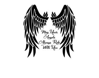 Angel Wings With Quote